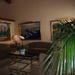 Lobby at Hotel Laguna