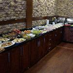 buffet petit dèj