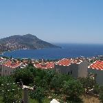 View from hotel of Kalkan Harbour