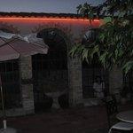 la terrasse le soir