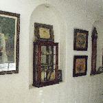 Antique decorations in the Hall