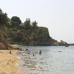 beach at troulos