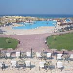 l'hôtel + piscine