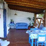 Veranda Colazione Villa Cetta