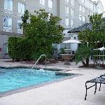 Pool - looking towards hotel.