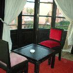 Hotel Fashion Table and Balcony