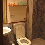 Shared bathroom in the corridor near Kitchen