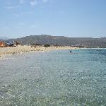 spiaggia nei pressi dell'hotel