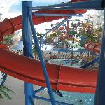 Looking from the Tube Slides