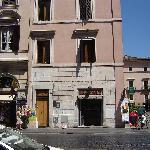 Casa Nova seen from Piazza Navona