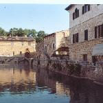 Bagno Vignoni view