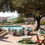 piscine avec vue sur medina