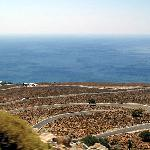 The crazy road on the way to Chora Sfakion