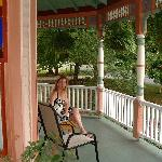 A Great Big Porch to relax on