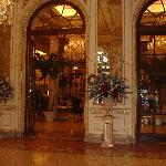 Entrance to the Palm Court