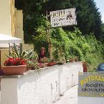 In front of Hotel Regina Giovanna