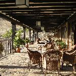 Terrace at the restaurant