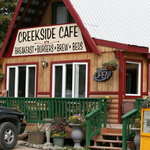 Creekside Cafe on Carlo Creek