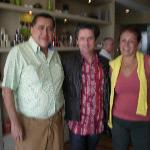 Gerald with Elena and Florencio Gomez