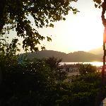 Sunset from Buzz Bar