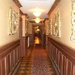 hallway of main building