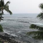 View of Banyans Surf Spot from lanai