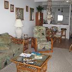 Living Room in #413