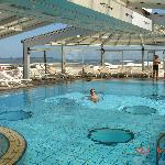 piscine chauffée à l'eau de mer