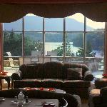 Looking out from Dinning Room - River view