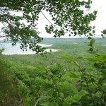 view from escarpment
