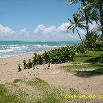 Beach in front of Cabarete East