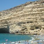 Strand und Höhlen