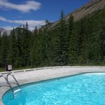 Miette Hot Springs - one of the cold pools