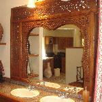 the  vanity area