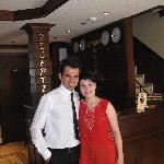 With Ceyhun Akdeniz,the manager