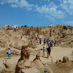 Sand City in Pera Portugal