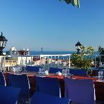 Blick vom Restaurant DoyDoy aufs Marmara-Meer