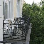 balcons avec vue sur jardins