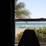 bedroom view of beach