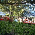 le petit déjeuner avec vue sur le Golfe de Valinco