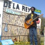 De la Rey doing a performance