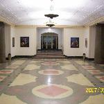 One of the many beautiful halls