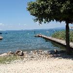 Privatsteg zum See