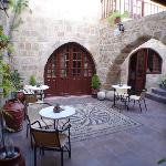 Beautiful private courtyard
