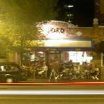 Toro restaurant (sorry for the blur)