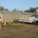 Gravel Lot and Outbuilding Camping Sites