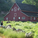 The restored 4 Mile Creek Barn