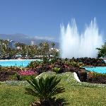 Lago Martianez - a great place for R&R after the fiesta