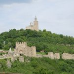 Tsarevets former monastery