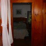 Hallway to bedroom in Cottage 11